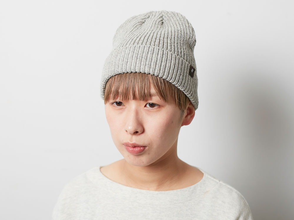Wool Watch Cap Brown2