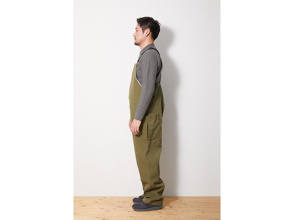 TAKIBI Overalls XL Olive