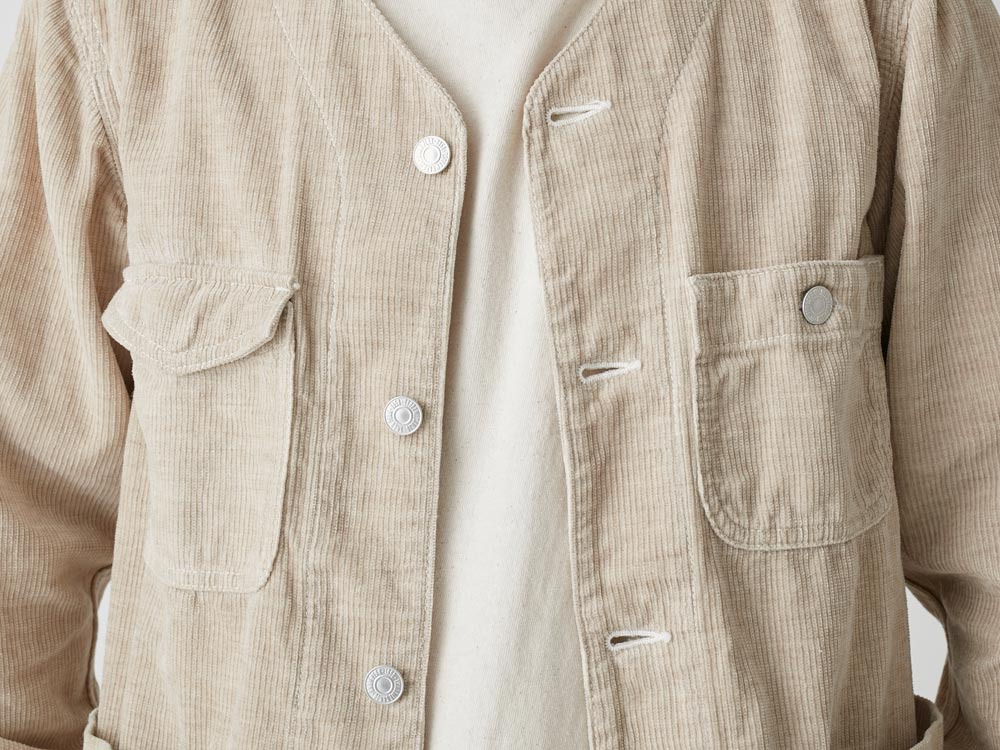 Linen Corduroy Jacket XXL Natural5