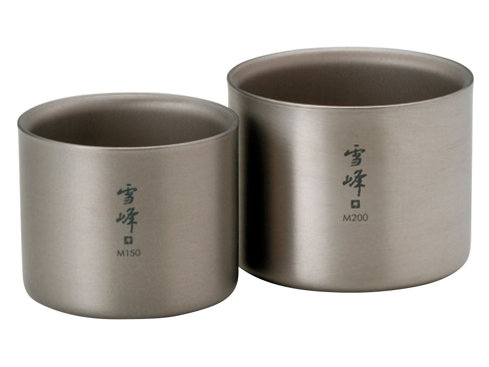 Titanium Stacking Double Wall Ware Combo Set S0