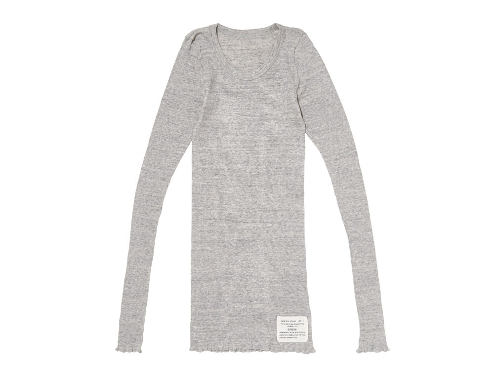 W's UltimatePima Rib Shirt 1 M.Grey