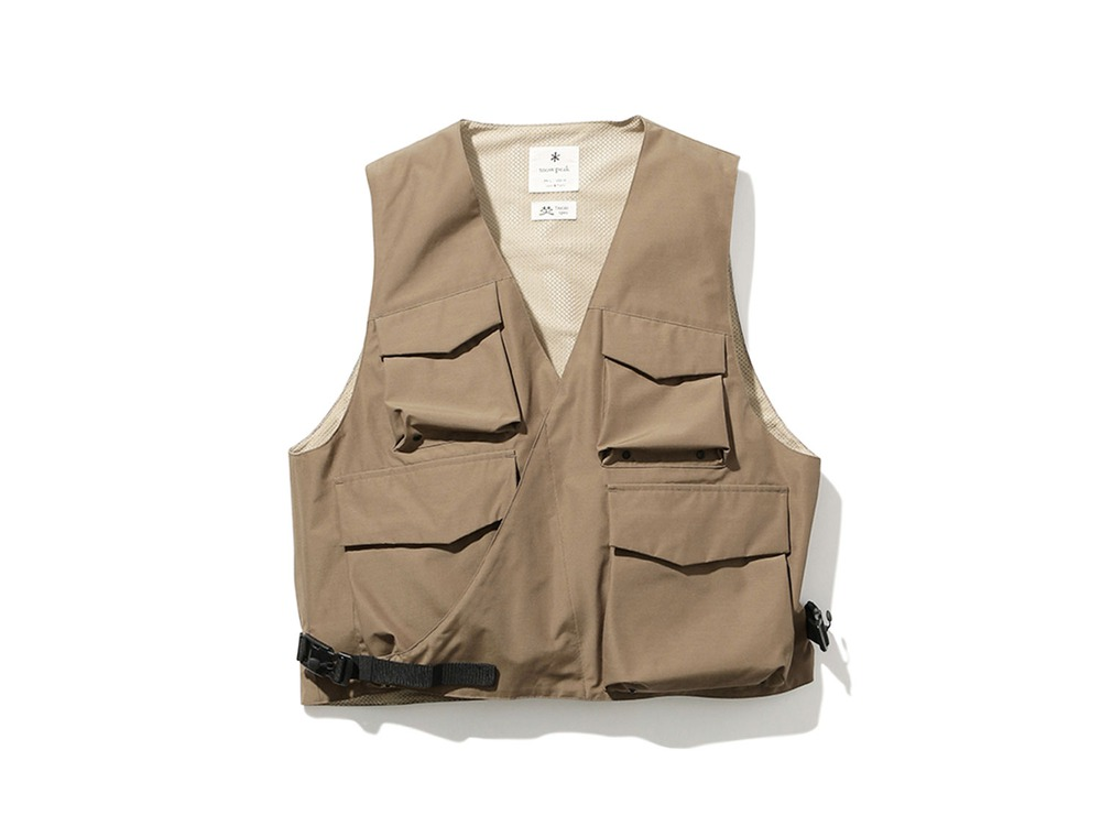 FR 3L Rain Vest S Brown