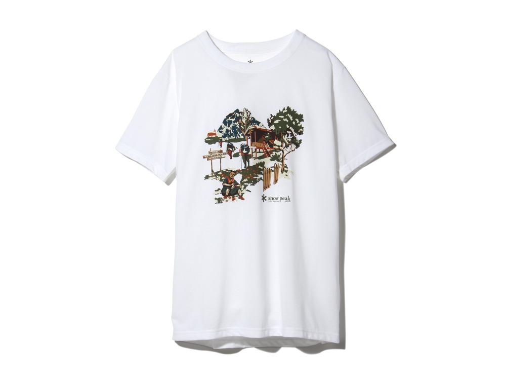 Campfield Tshirt S White0
