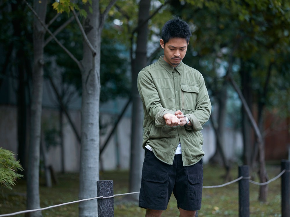 FlexibleInsulatedShirt  L Olive10
