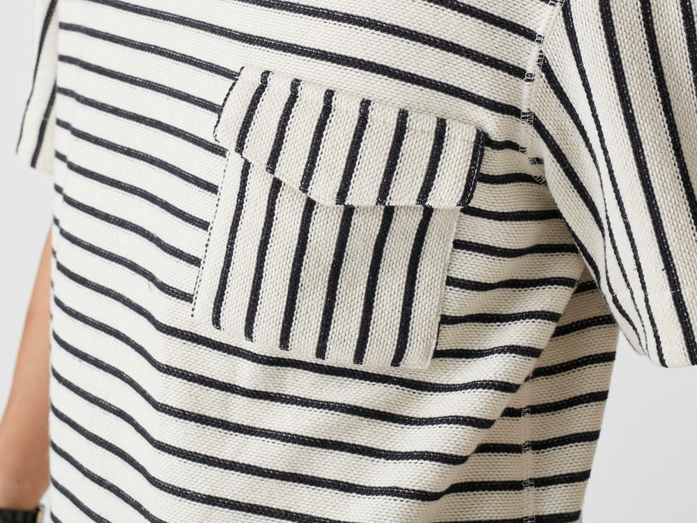 C/L Striped Pullover XL Ecru5