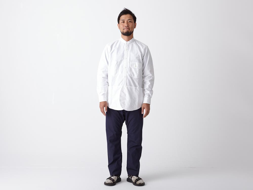 Field Utility Shirt M White1