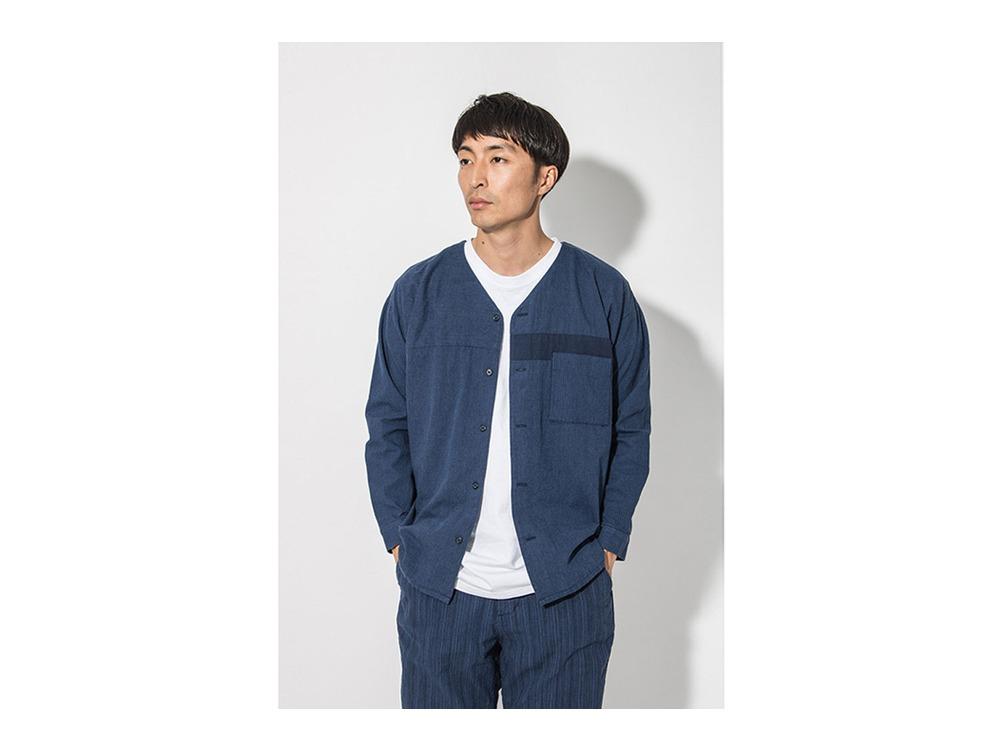 昔のワークシャツ(JIBAN)  M Navy