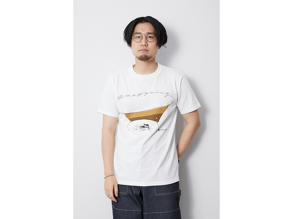 Easy Going Tee M White