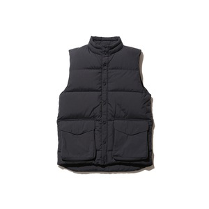 Recycled Nylon Ripstop Down Vest