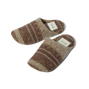 Shetland Cotton JQ Room Shoes