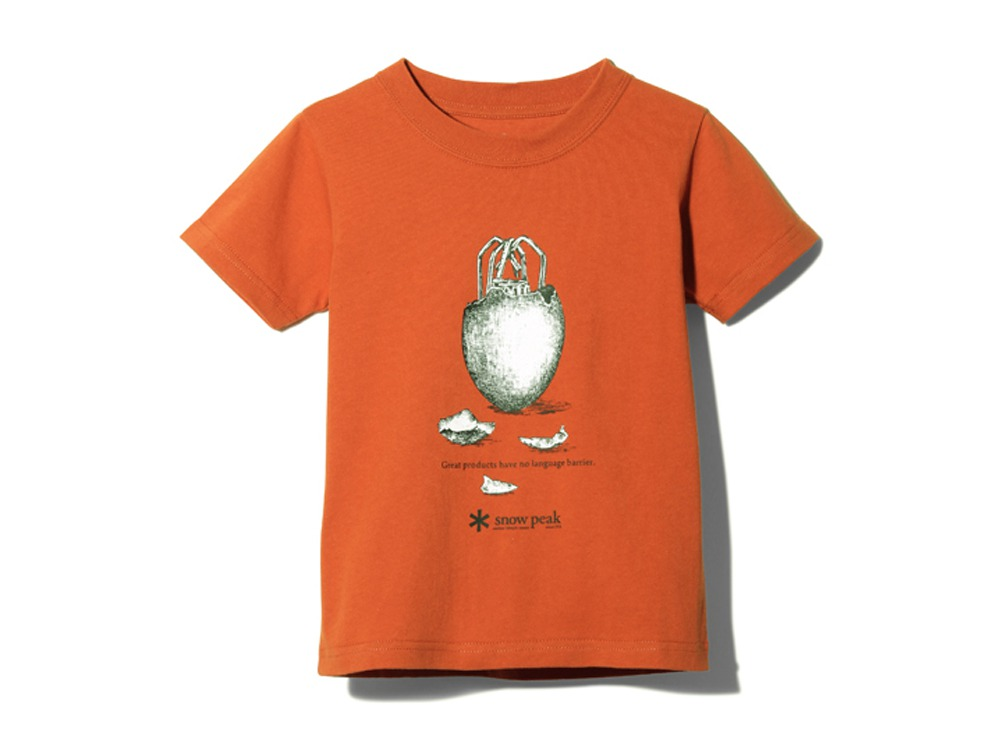 キッズ ギガパワーストーブ Tシャツ 2 レッド