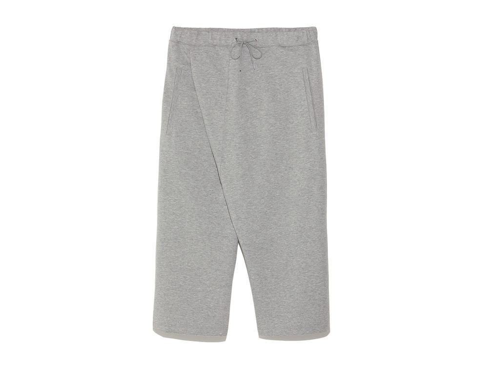 Cotton Ponte Thai Pants 1 M.Grey0