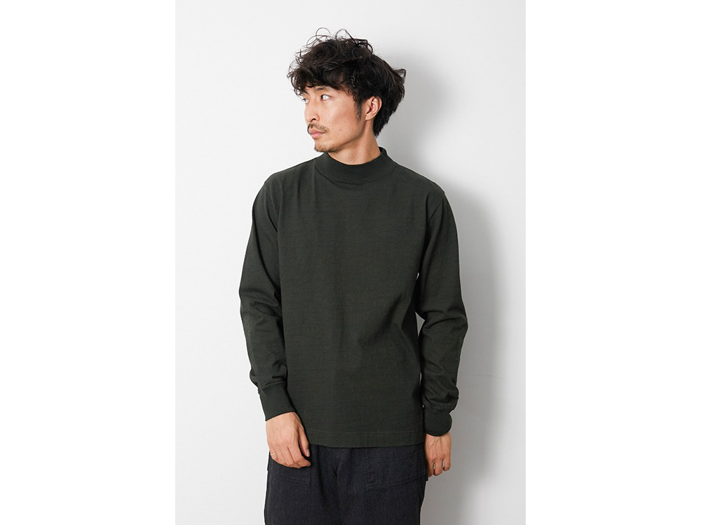 Heavy Cotton GD Mockneck L/S 1 BK