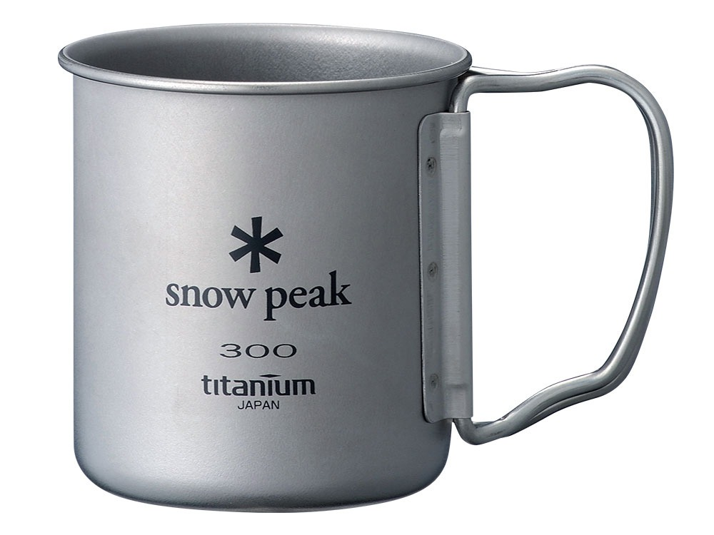 Titanium Single Cup 300 Folding Handle0