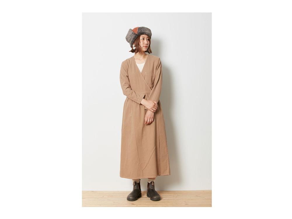 ナシジ ラップドレス 2 Brown