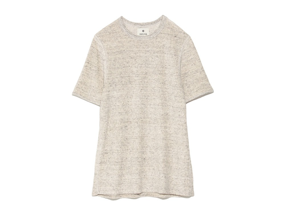 Linen Pile Tshirt L Grey0