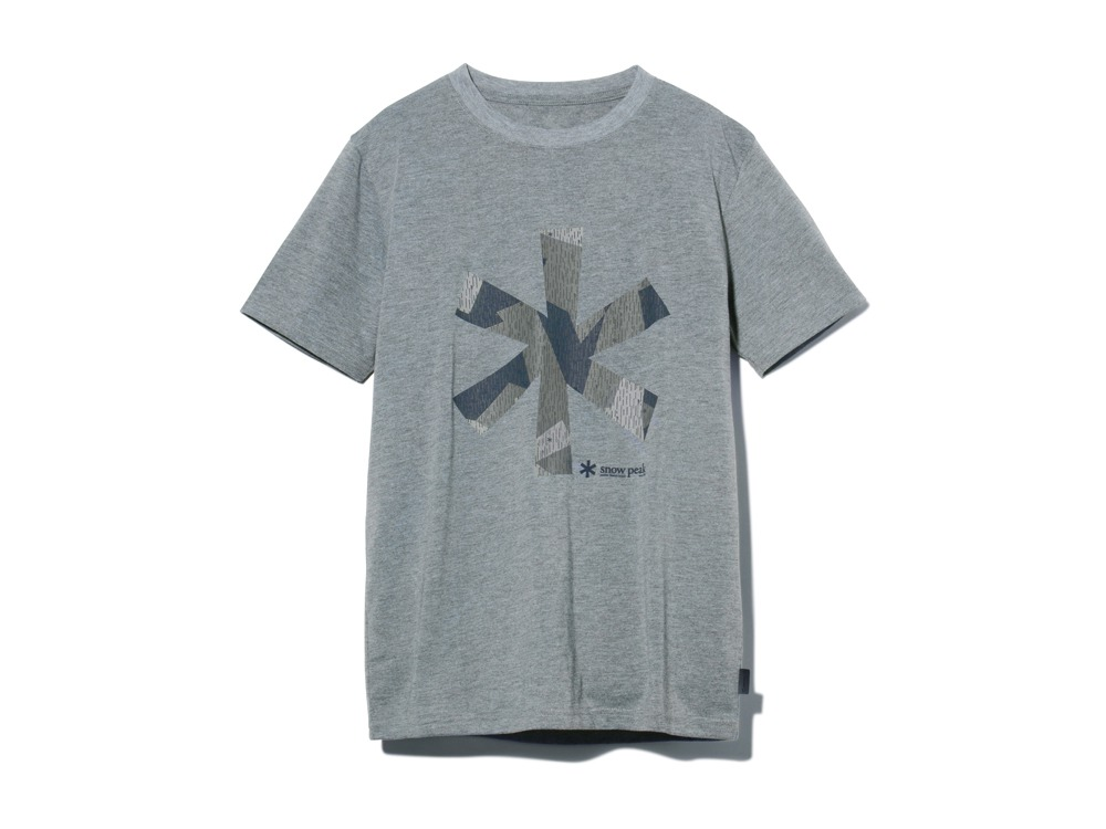 QuickDryTshirt/RainCamo L M.grey0