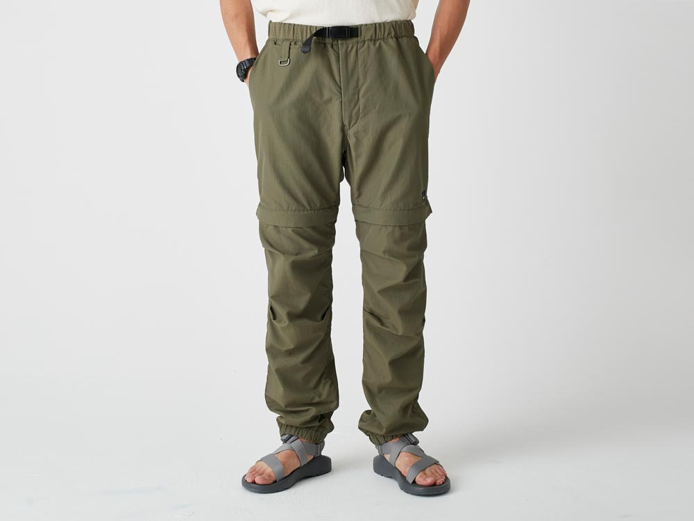 Camping 2WAY Field Pants S Brown2