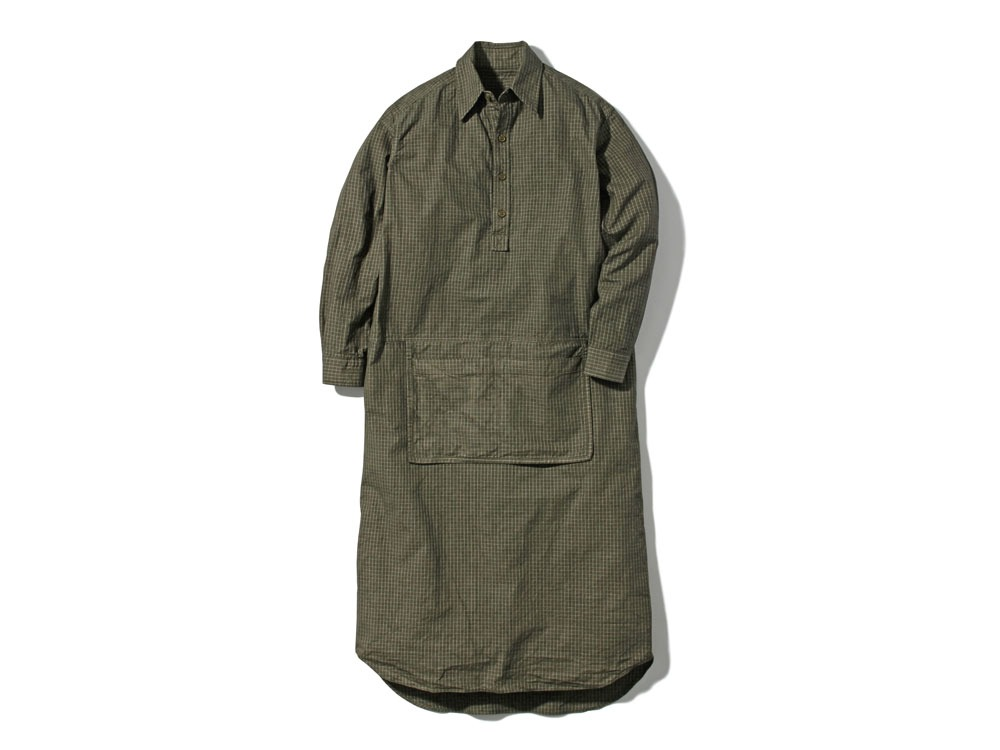 W's Organic Rip Stop Dress 3 Olive0