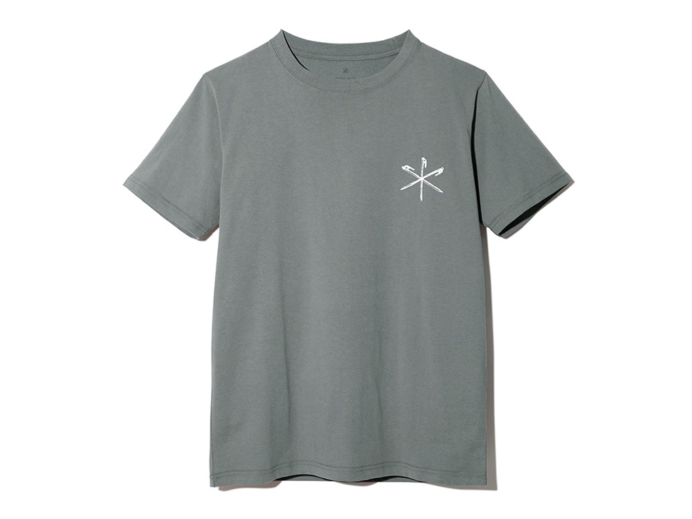 Printed Tshirt Peg & Hammer M Greykhaki
