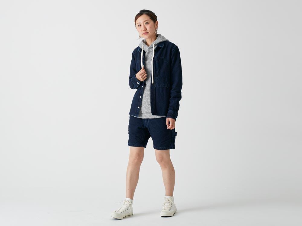 Okayama OX Shirts 1 Indigo1