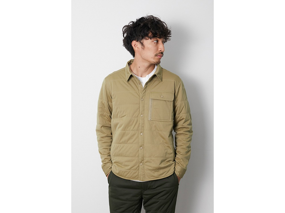 Flexible Insulated Shirt S Beige