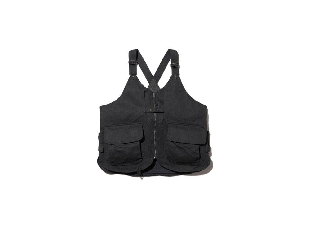 Kids TAKIBI Denim Vest One Black