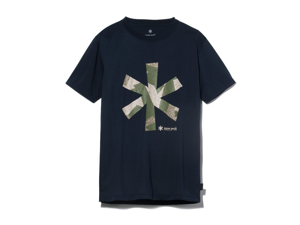 QuickDryTshirt/RainCamo 1 Navy0