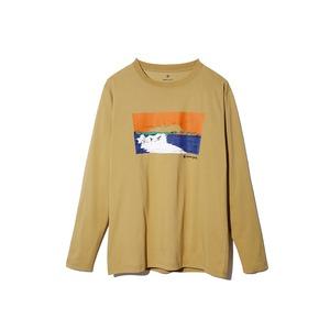 Printed L/S Tshirt Campfield