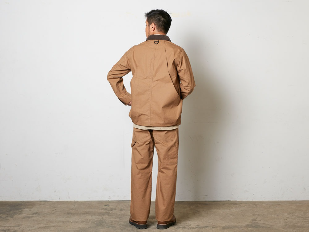 TAKIBICoverall XL Brown3