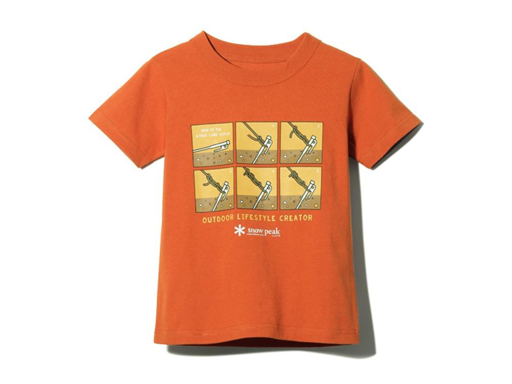 キッズ トートラインヒッチ Tシャツ 2 レッド