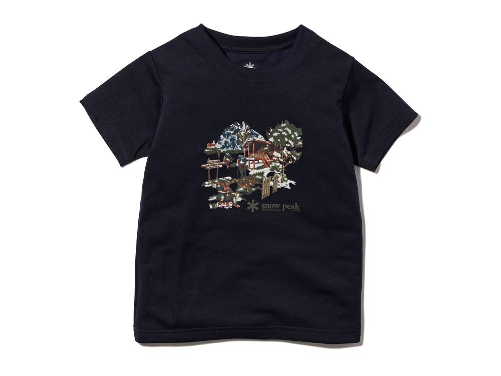 Kid's Campfield Tshirt1Navy