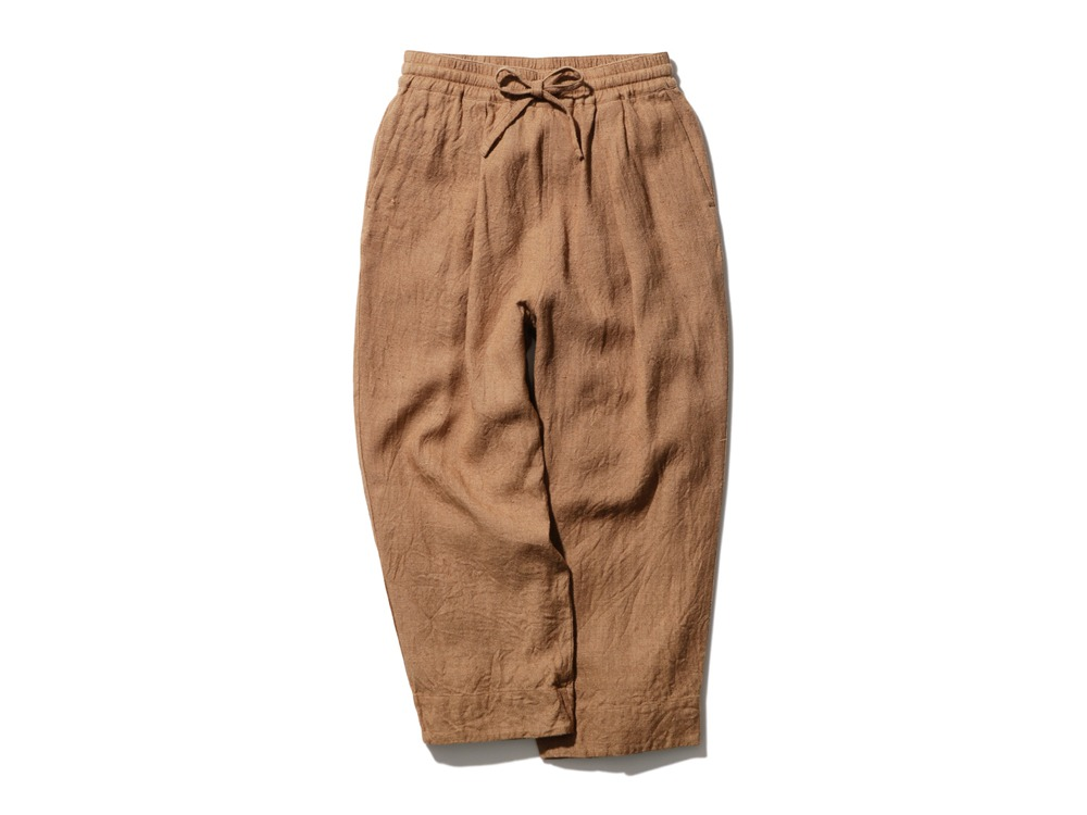 Hand-woven Wild Silk Pants 1 Natural
