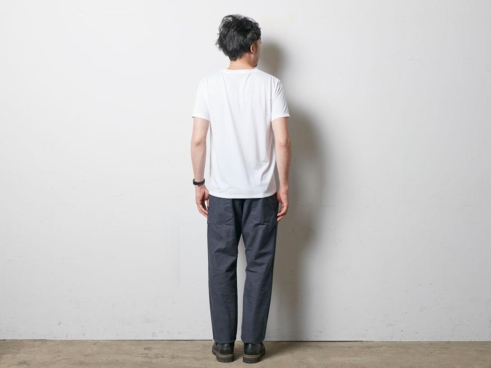 レインカモフラージュティーシャツ S ネイビー