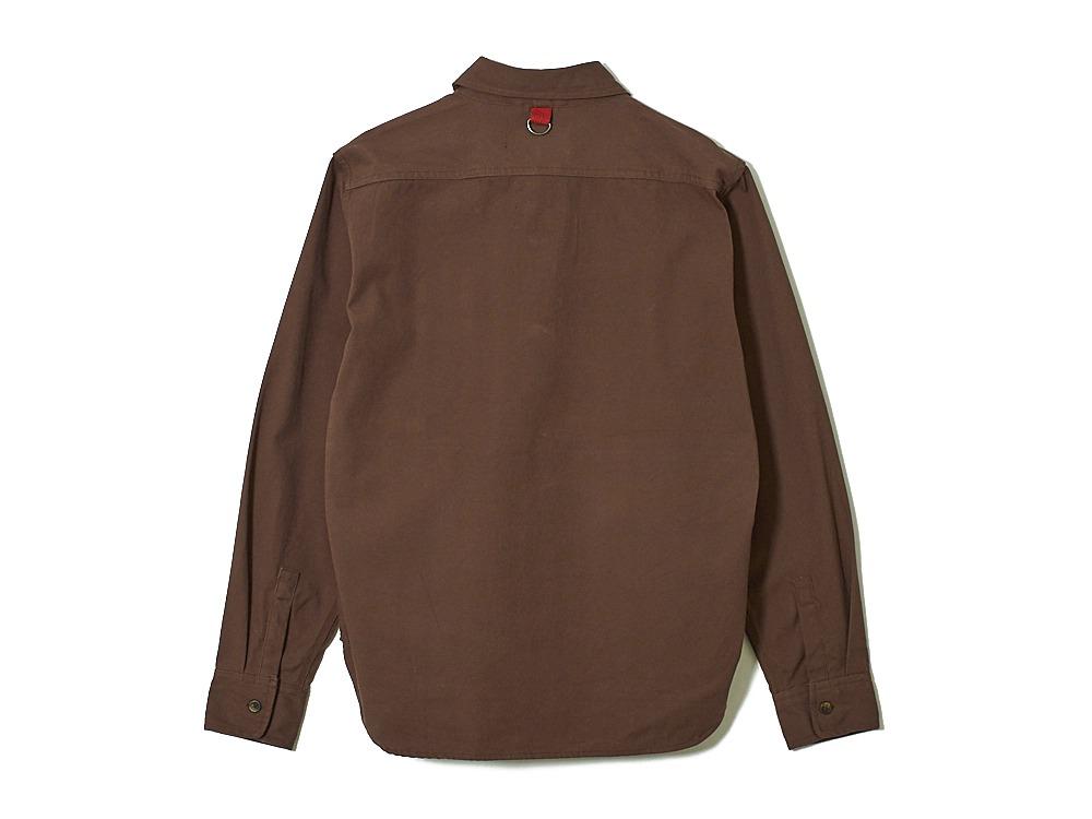 Field Fishing Shirt M/S Brown