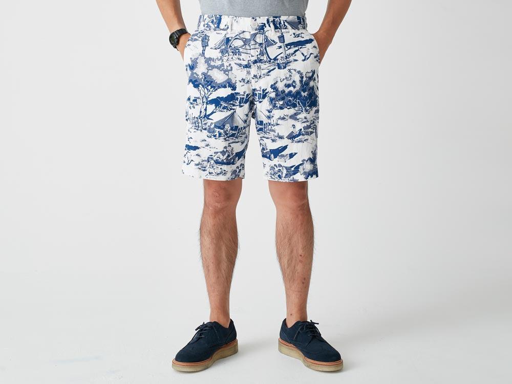 Camp Aloha Shorts S Olive4
