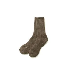 Shetland Wool Knit Socks
