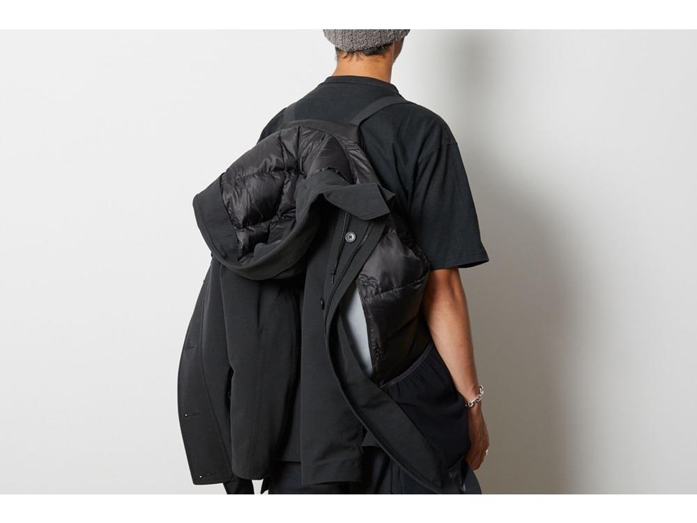 TAKIBI Down Jacket L Black