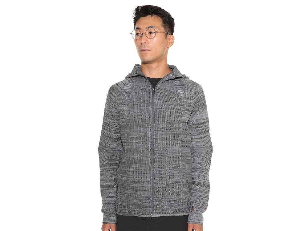 WG Stretch Knit Jacket L Grey.Black2
