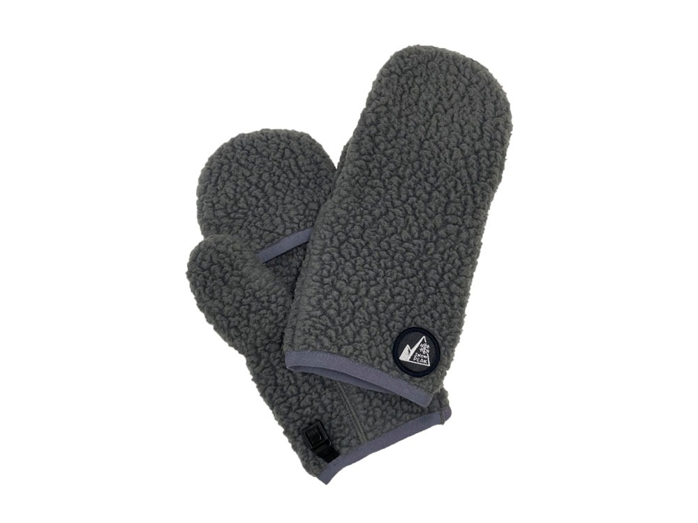 MM Thermal Boa Fleece Mittens One Grey