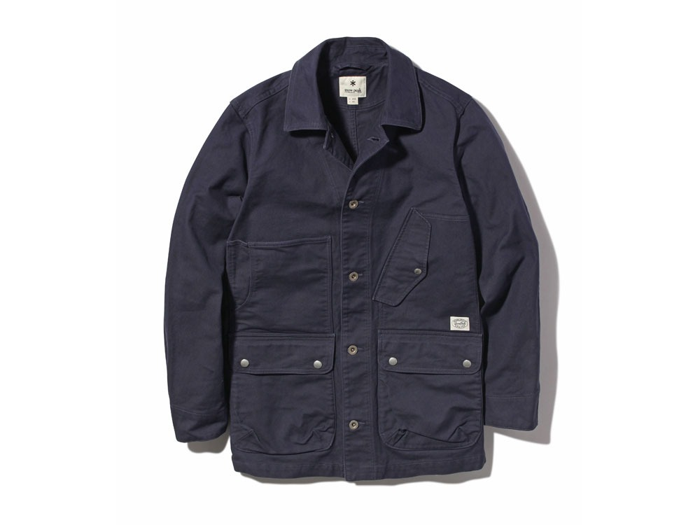 TAKIBI Coverall Jacket 2 Navy0