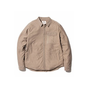 Flexible Insulated Shirt M Beige