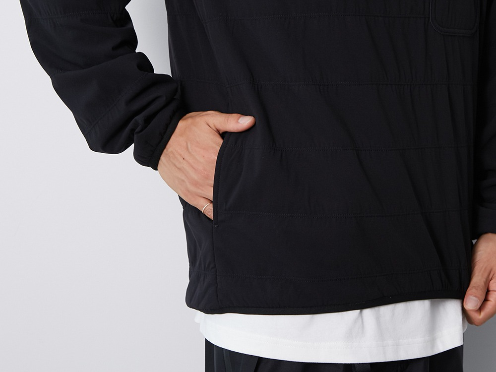 Flexible Insulated Pullover L Beige