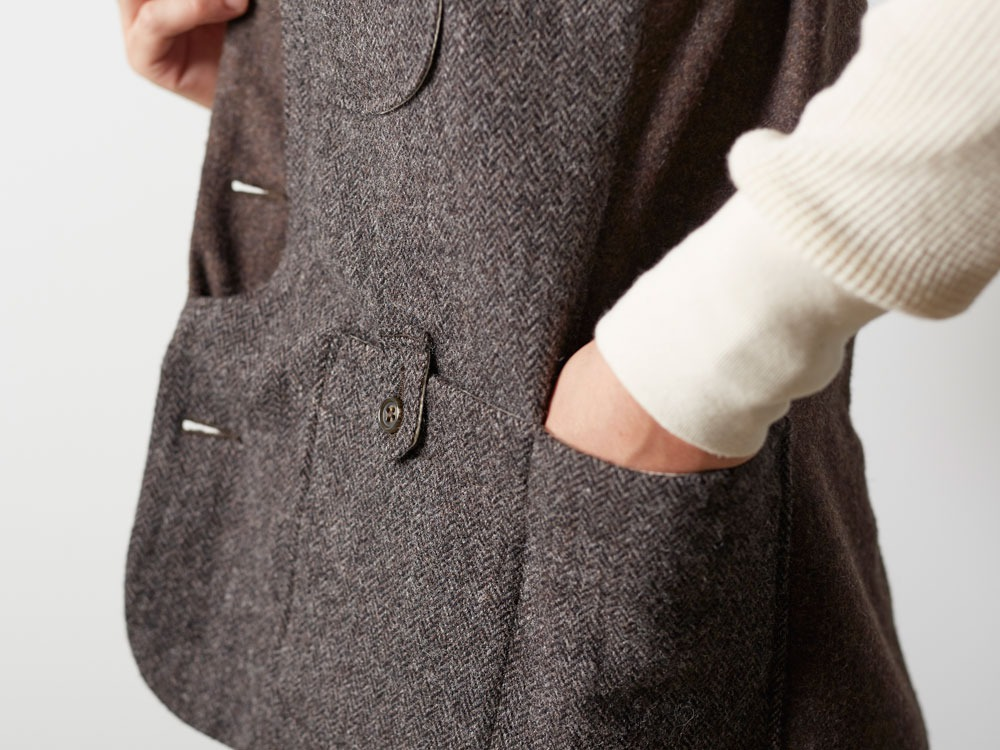 Camping Wool Vest M Grey8