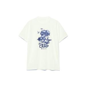 キャンプフィールドプリントティーシャツ