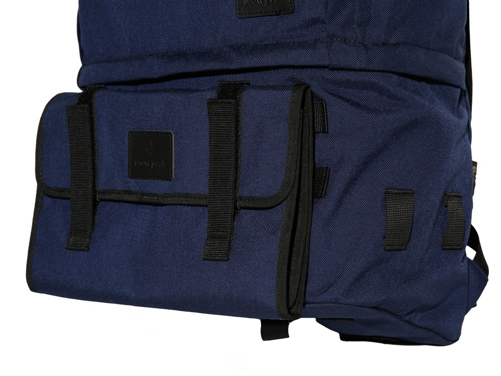 Day Camp System Roll Bag Black1