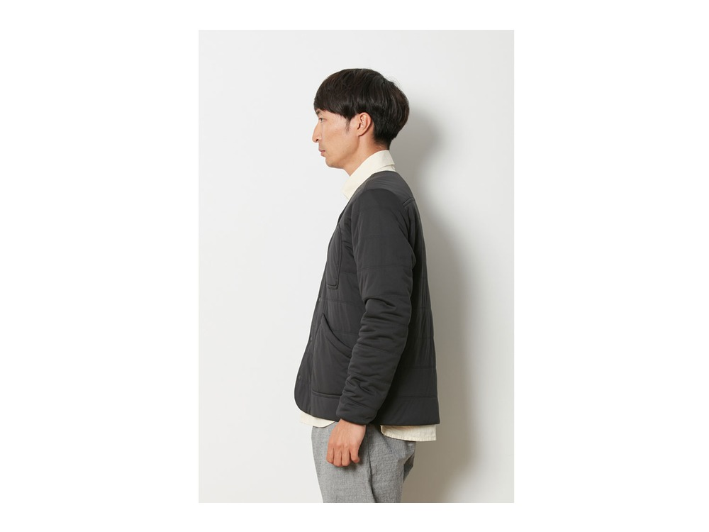 Flexible Insulated Cardigan L Black