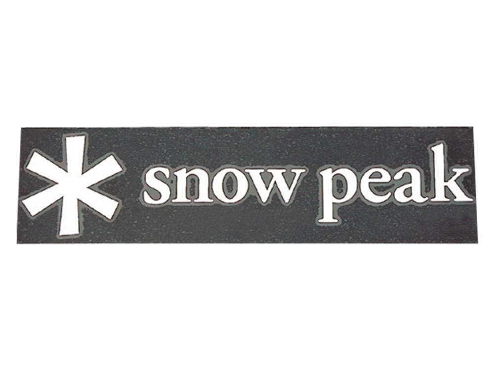 Snow Peak Logo Sticker Asterisk S0
