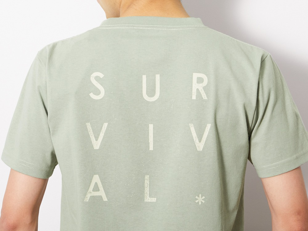 Primitive Survival Tee M Sage