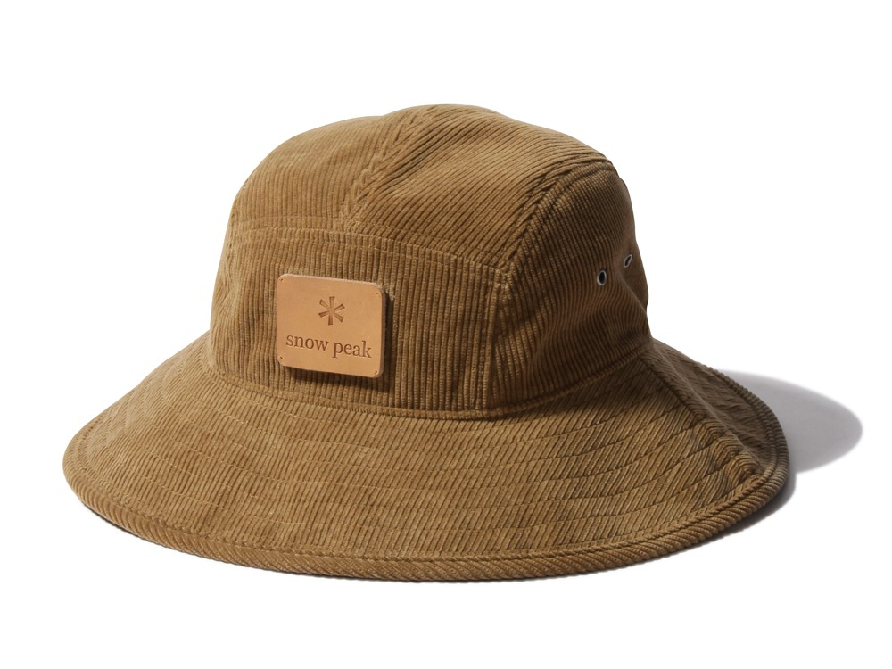 True Organic Corduroy Hat Size2 Natural0